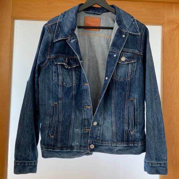 Levi's Boyfriend Trucker Jacket Size XL